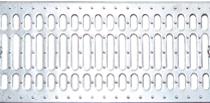 Решетка штампованная стальная оцинкованная